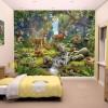 Az erdő állatai fali tapéta - Walltastic