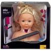 Braun Fodrász babafej hajvasalóval 25cm - Klein Toys
