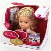 Coralie Hercegnő smink babafej 25cm - Klein Toys