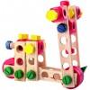 Csavarozható fa jármű építő játék - Woodyland