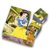 Disney Hercegnők dobozos fa mesekocka 9db-os