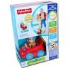 Fisher-Price: Kiskutyás tili-toli autó - Mattel