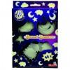 Fluoreszkáló hold, csillagok, felhők - Simba Toys