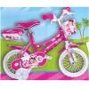 Gyerek bicikli Barbie mintával 14-es méret