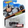 Hot Wheels Marvel: Rhino 1/64 kisautó - Mattel