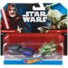 Hot Wheels - Star Wars: Palptine császár és Yoda kisautók 1/64 - Mattel