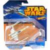 Hot Wheels: Star Wars X-Wing csillaghajó nyitott szárnyakkal - Mattel