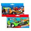 Hot Wheels színes zsírkréta 24 db-os