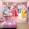 Mesebeli Hercegnők fali tapéta - Walltastic