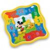 Mickey egér fa puzzle óra 13db-os