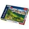 Olaszország Dolomitok 500 db-os puzzle - Trefl