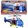 Rendőrségi helikopter fénnyel és hanggal - Dickie Toys