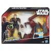 Star Wars Hero Mashers Jedi Speeder és Anakin Skywalker figura - Hasbro