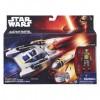 Star Wars - Lázadók: Y-Wing bombázó és Kanan Jarrus akciófigura 10 cm - Hasbro