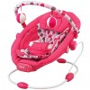 Zenélő babafotel rezgő funkcióval pink színben