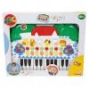 ABC állatos zongora 28x39cm - Simba
