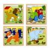 Baba puzzle - Woodyland