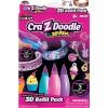Cra-Z-Art: 3D Toll utántöltő szett lányos színekkel