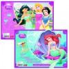 Disney hercegnős színes lapos vázlatfüzet B/4-es méret 8 lap
