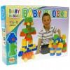 Baby Blocks 24 db-os építőkockaszett - D-Toys