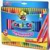 Dupla végű filctoll készlet 24 db - Carioca
