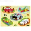 Közlekedési járművek fapuzzle