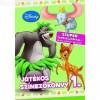 Disney játékos színezőkönyv 1. - Szuper társasjátékkal