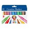 ICO: Creative Kids vastag filc készlet 10 színű