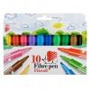 ICO: SÜNI vastag filctoll szett 10 színű