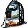 Lamborghini színes tornazsák sportzsák