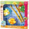 Playgo: Lebegő xilofon állatok mágneses fürdőjáték