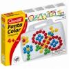 Quercetti: Kreatív pötyi tábla-többféle mintával 100db-os