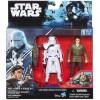 Star Wars - Az ébredő Erő: Poe Dameron és Snowtrooper figura 10cm - Hasbro