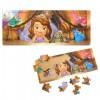 Szófia Hercegnő nagy méretű fa keretes puzzle 21 db-os